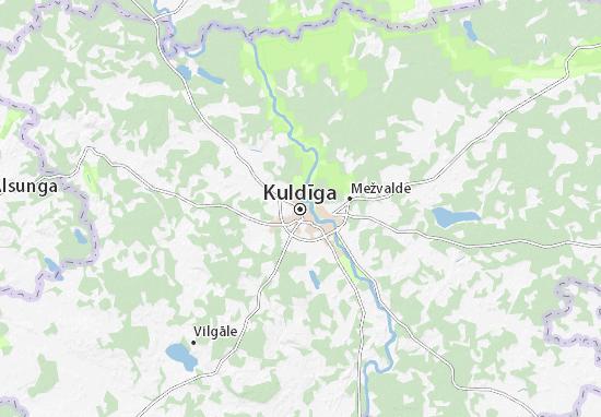 Kuldīga Map