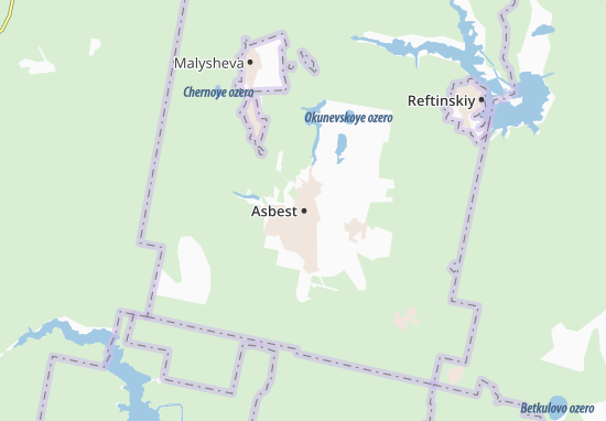 Kaart Plattegrond Asbest