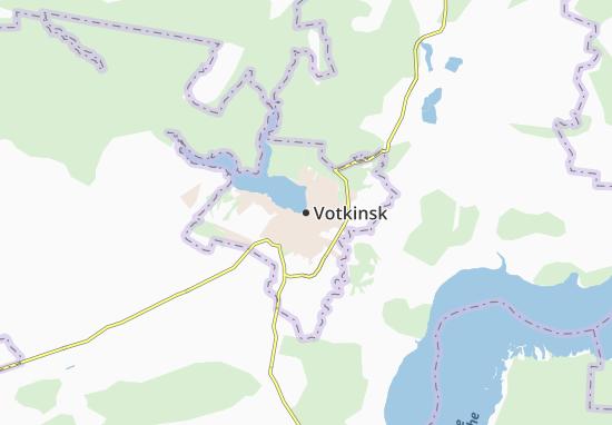 Carte-Plan Votkinsk
