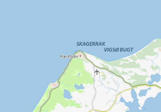 Mapas-Planos Hanstholm