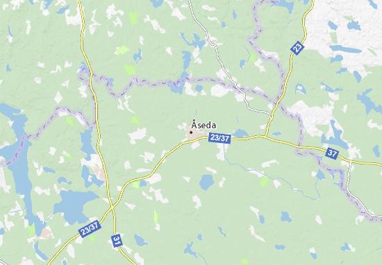 Carte-Plan Åseda