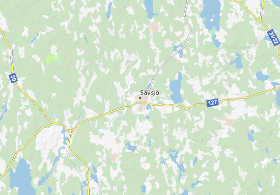 Sävsjö Map