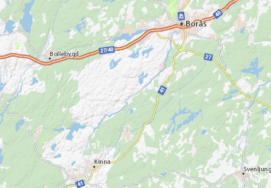 Map Of Svaneholm Michelin Svaneholm Map ViaMichelin - Sweden map boras