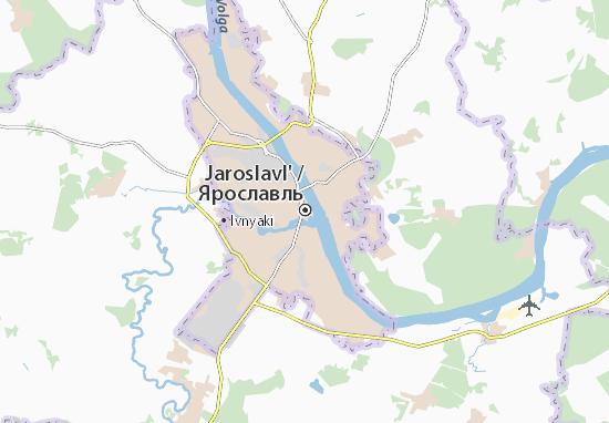 Mappe-Piantine Jaroslavl'