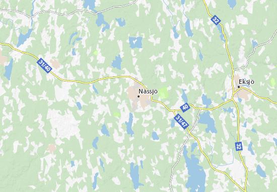 Nässjö Map