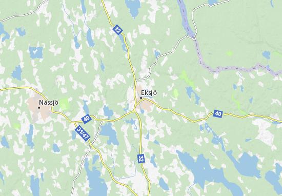 Eksjö Map