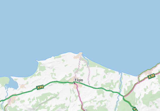 Lossiemouth Map