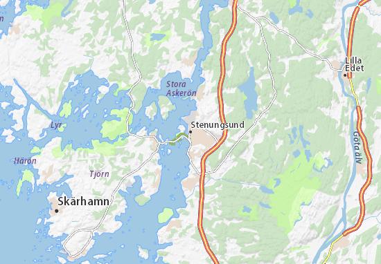 Mapa Plano Stenungsund