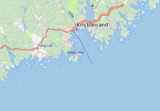 Skålevik Map