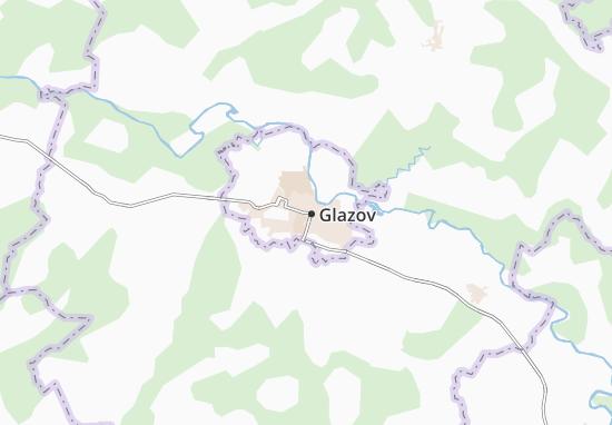 Carte-Plan Glazov