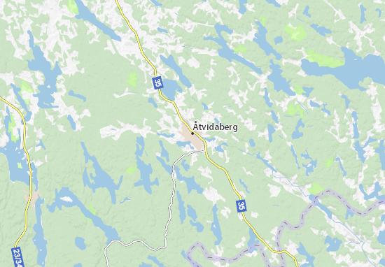 Mapa Plano Åtvidaberg