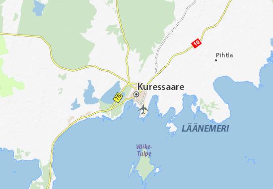 Mapa Plano Kuressaare