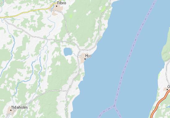 Mapa Plano Hjo