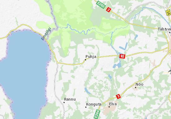 Puhja Map
