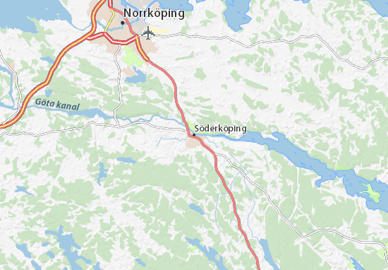 Söderköping Map