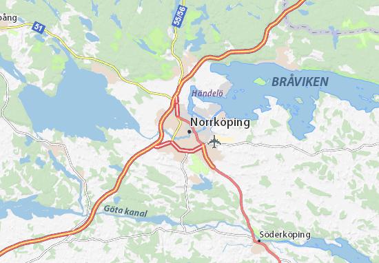 Norrköping Map