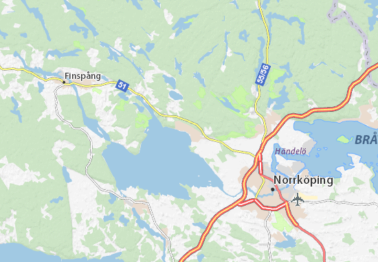 Svärtinge Map