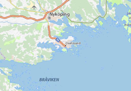 Mapa Plano Oxelösund