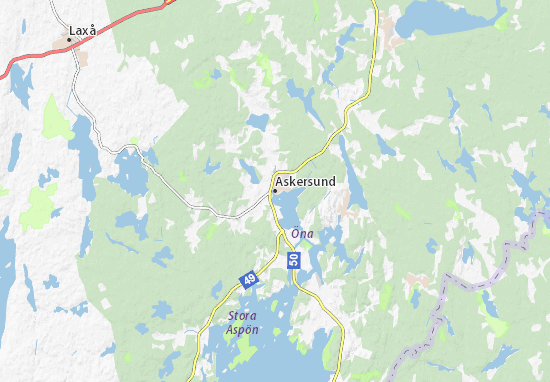 Askersund Map