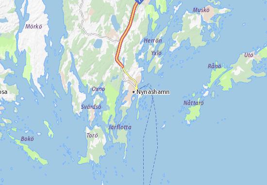 Nynäshamn Map