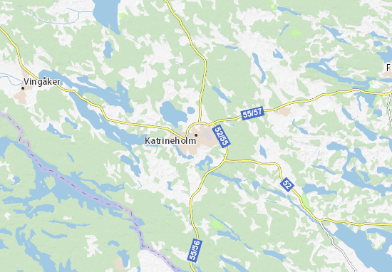 Mapa Plano Katrineholm