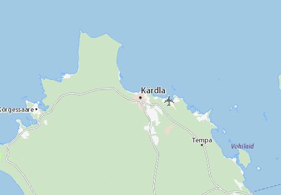 Kärdla Map