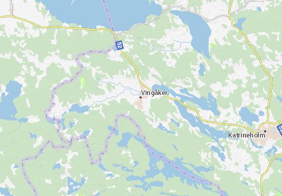 Mapa Plano Vingåker