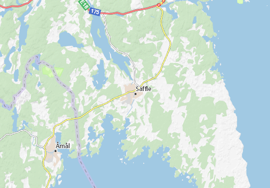 Mapa Plano Säffle