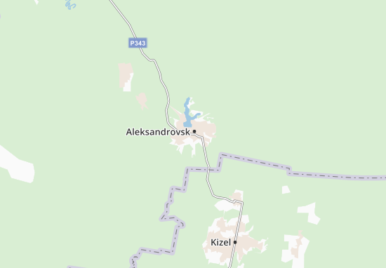 Carte-Plan Aleksandrovsk