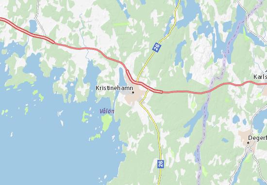 Mapa Plano Kristinehamn