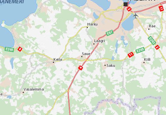 Saue linn Map