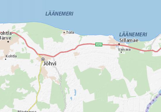 Toila Map