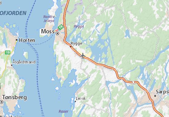 Mapas-Planos Ryggebyen