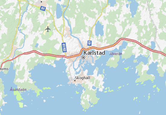 Mappe-Piantine Karlstad