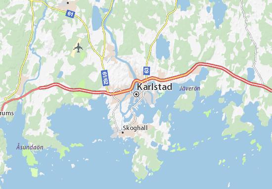 Karlstad Map