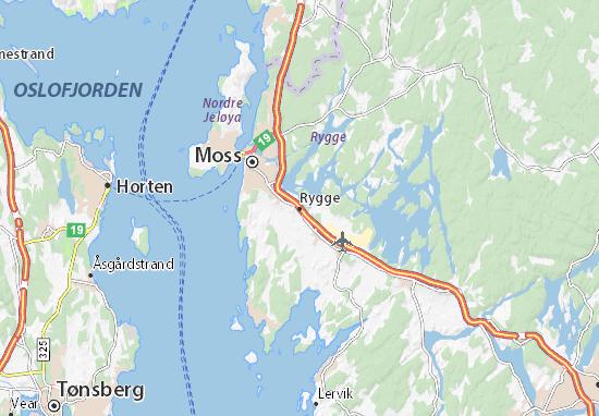 Rygge Map