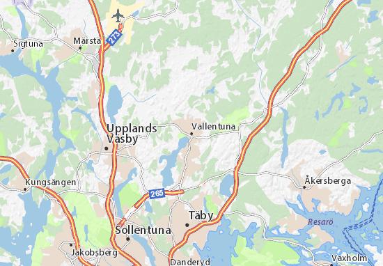 Mappe-Piantine Vallentuna