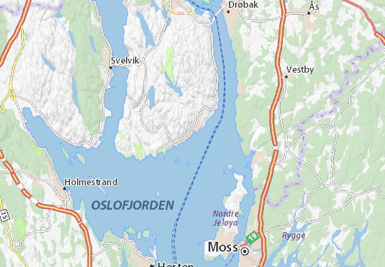 Tofte Map