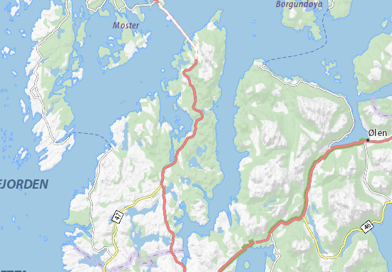 Mapas-Planos Førde