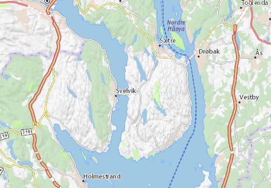 Klokkarstua Map