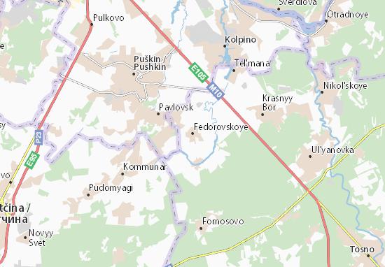 Mapas-Planos Fedorovskoye