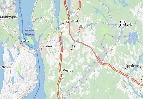 Carte-Plan Ås