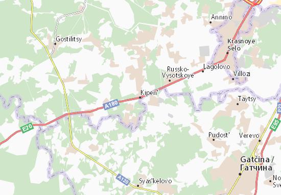 Kipen' Map