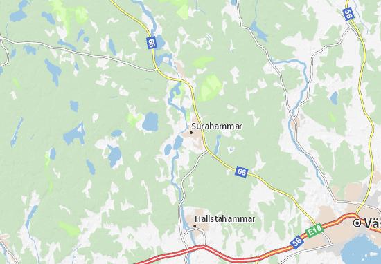 Surahammar Map