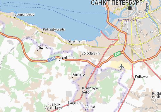 Volodarskiy Map