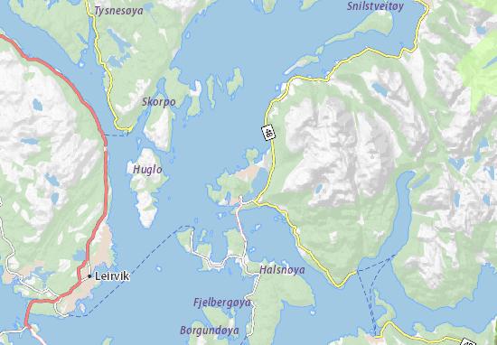 Mapas-Planos Husnes