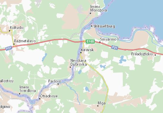 Mapas-Planos Kirovsk