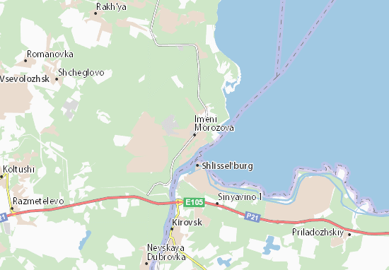 Mapas-Planos Imeni Morozova