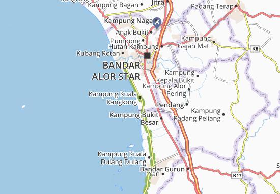 Mapas-Planos Kampung Kuala Kangkong