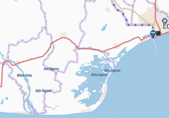 Mapas-Planos Anyako
